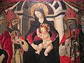 Seguace del ghirlandaio, madonna col bambino e santi, da s. donato a castelnuovo dei sabbioni (cavriglia), 1485-95 ca. 03.JPG