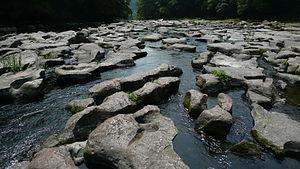 Mochio-Sekinoo Prefectural Natural Park - Sekinoo potholes
