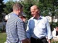 Sen. Joe Biden attends a Creston house party (cropped).jpg
