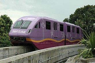 Sentosa Express - Image: Sentosa Express Purple
