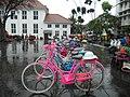 Sepeda Onthel in Taman Fatahillah, Jakarta.jpg