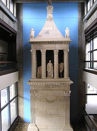 Romano-Germanic Museum - Sepulcher of Poblicius, 40 AD