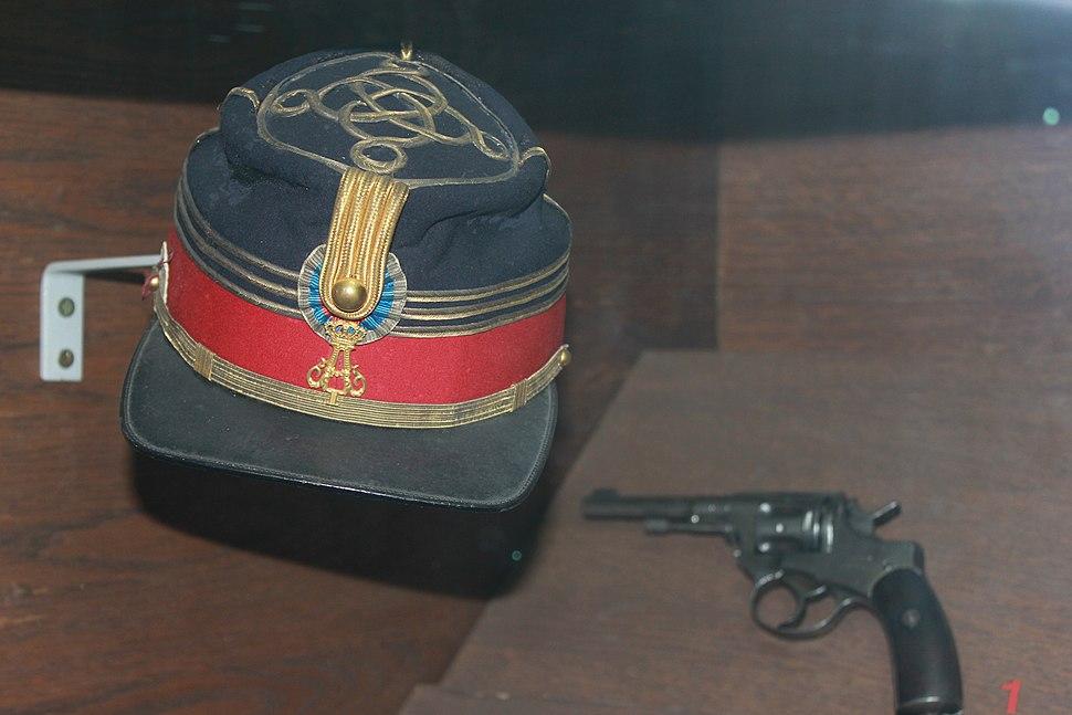 Serbain officer hat during Serbian Turksih war of 1876