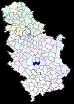 Opština Aleksandrovac u Srbiji
