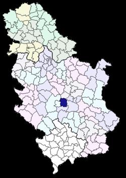 karta srbije trstenik Trstenik (općina) – Wikipedija karta srbije trstenik