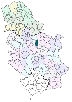 velika plana srbija mapa Velika Plana   Wikipedia velika plana srbija mapa