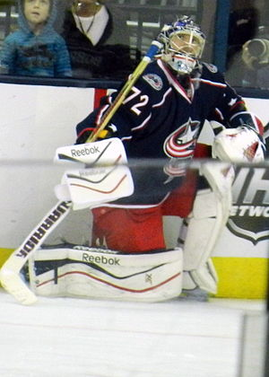Sergei Bobrovsky - Bobrovsky with Columbus in 2013