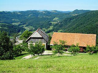 Setnica, Dobrova–Polhov Gradec Place in Upper Carniola, Slovenia