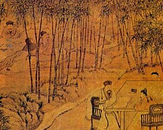 Seven Sages of the Bamboo Grove - Image: Seven Worthies