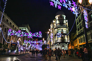 Seville city at Christmas night (6570969587)