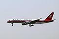 Shanghai Airlines Boeing 757-26D B-2833 (8697185619).jpg