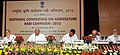 Sharad Pawar, the Minister of State for Agriculture, Food Processing Industries and Parliamentary Affairs, Shri Harish Rawat and the Minister of State for Agriculture and Food Processing Industries.jpg