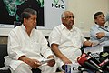 Sharad Pawar addressing a press conference after inaugurating the Mahalanobis National Crop Forecast Centre, in New Delhi. The Minister of State for Agriculture, Food Processing Industries and Parliamentary Affairs.jpg