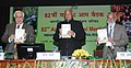 Sharad Pawar releasing the book at the inauguration of the 82nd Annual General Meeting of Indian Council of Agricultural Research, in New Delhi on February 02, 2011.jpg