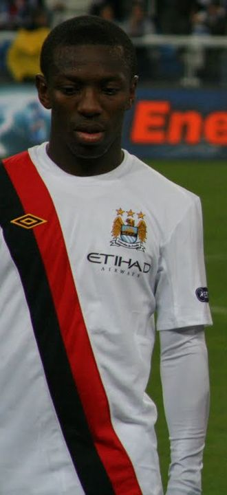 Shaun Wright-Phillips - Wright-Phillips lining up for Manchester City in 2010