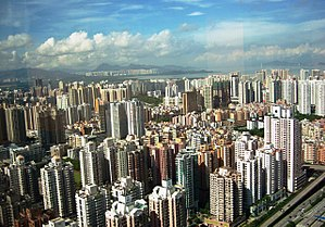 Η κινέζικη πόλη Σεντσέν ακριβώς δίπλα στο Χονγκ Κονγκ είχε το 1979 περίπου 30.000 κατοίκους, ενώ σήμερα έχει περίπου 11 εκατομμύρια.