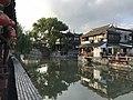 Shihe River near Qingfengqiao Bridge in Fengjing Town 2.jpg