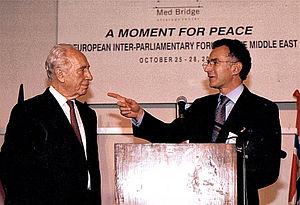 François Zimeray - Zimeray and Shimon Peres