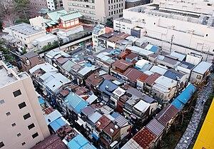 Shinjuku Golden Gai - Overhead view