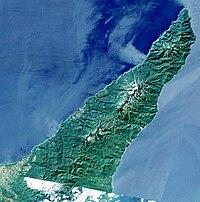 Shiretoko Peninsula Hokkaido Japan SRTM.jpg