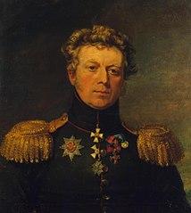 Portrait of Yevstafy Ye. Staden (1774-1845)