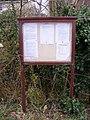 Sibton Village Notice Board - geograph.org.uk - 1638736.jpg