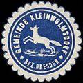 Siegelmarke Gemeinde Kleinwolmsdorf-Bez. Dresden W0313813.jpg