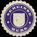 Siegelmarke Gemeinde Murg W0313149.jpg