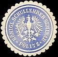 Siegelmarke Königliche Schullehrer Seminar - Pölitz W0225627.jpg