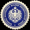 Siegelmarke Kaiserlich Deutsches Militär Gouvernement Lomza W0238083.jpg