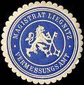 Siegelmarke Magistrat Liegnitz - Vermessungsamt W0251434.jpg