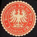 Siegelmarke Statistisches Amt der Stadt - Frankfurt am Main W0232368.jpg