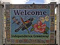 Sign, Independence Greenway, Peabody MA.jpg