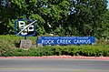 Sign at PCC Rock Creek Campus entrance (2018).jpg