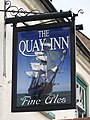 Sign for the Quay Inn, Wareham - geograph.org.uk - 973706.jpg