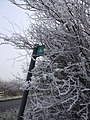 Signpost and Hoar Frost - geograph.org.uk - 296472.jpg