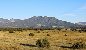 Silver Mountain (Colorado) - Image: Silver Mountain (Huerfano County, Colorado)