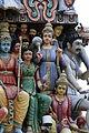 Singapore. Sri Mariamman. Gopuram. South East-27.JPG