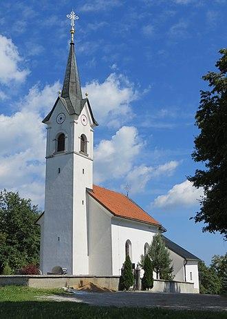 Sinja Gorica - View from west