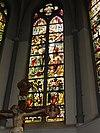 sint martinuskerk katwijk (cuijk) raam kruisdood van christus