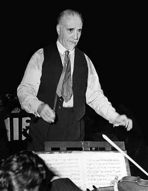 London Philharmonic Orchestra - Sir Thomas Beecham, founding father and first conductor of the LPO