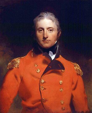 John Moore (British Army officer) - Portrait, oil on canvas, of Sir John Moore by Sir Thomas Lawrence (1769–1830)