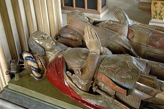 John Spencer (died 1522) - Sir John Spencer and Isabella Graunt's tomb at Great Brington.