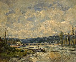 Alfred Sisley: The Bridge at Sèvres