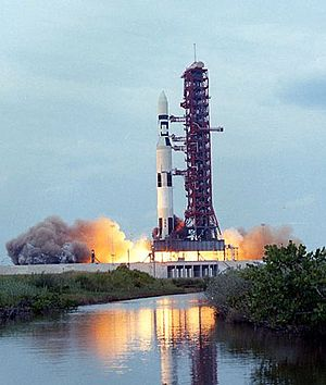 Mobile Launcher Platform 2 - Launch of Skylab from ML-2 at LC-39A