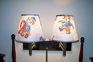 Travelodge - Travelodge Sleepy Bear lamp shades