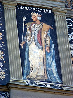 Joanna of Rožmitál Queen consort of Bohemia