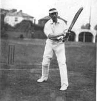 John Lester - John Lester posing at bat in later life