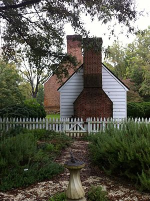 Smallwood State Park - Image: Smallwood house garden