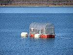Smelt fishing boat in Lake Yamanaka (1) IMG 0649 20130104.JPG
